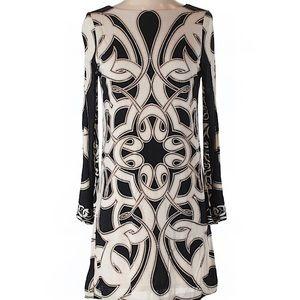 Nicole Miller Long Sleeve Sheath Dress